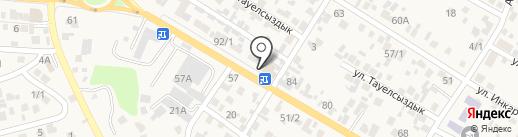 Дарын на карте Кыргаулд