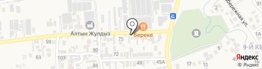АК Жол на карте Иргелей