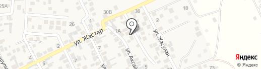 Казбелмедфарм на карте Райымбека