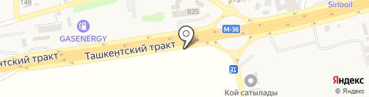 КАССА 24 на карте Алматы