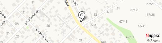 Айнур на карте Кыргаулд