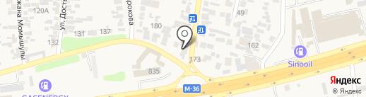 KazMicroFinance на карте Иргелей