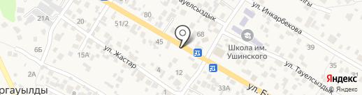 Рахым на карте Кыргаулд
