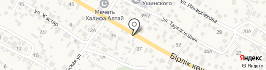 Гулсим на карте Кыргаулд
