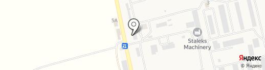 Грозный на карте Абая