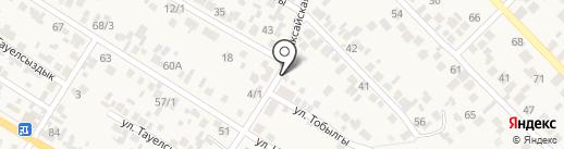 Аяулым на карте Кыргаулд