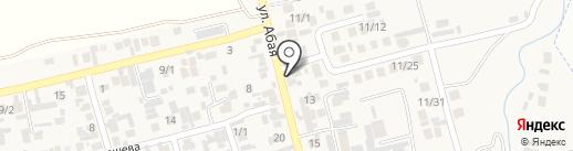 Платежный терминал, Kaspi bank на карте Абая