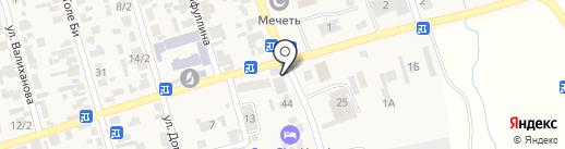 Данна на карте Абая