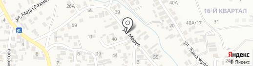 Abdi Trade Construction, ТОО на карте Иргелей