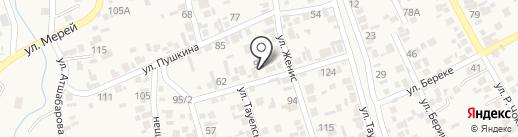 Продуктовый магазин на карте Коксая