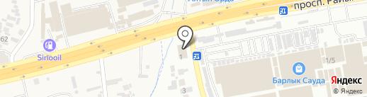 EMBAWOOD на карте Абая