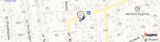 Врачебная амбулатория с. Коксай на карте Коксая
