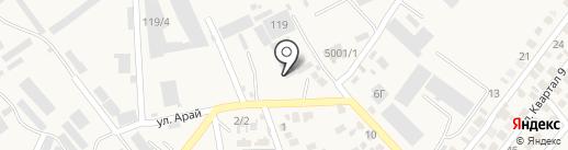 Prosperity Stroymarket, ТОО на карте Коксая