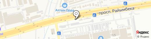 LEMON LOMBARD, ТОО на карте Абая
