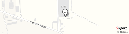 Kaz Brick Almaty, ТОО на карте Коксая