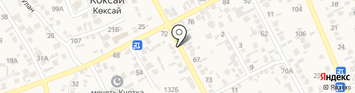 Айдос на карте Коксая