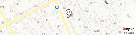 Асыл на карте Коксая
