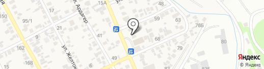 Автосервис на карте Коксая