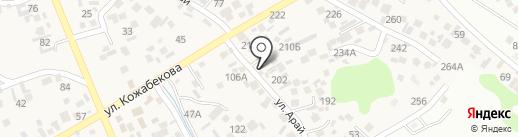 Айдын & Мадияр на карте Коксая