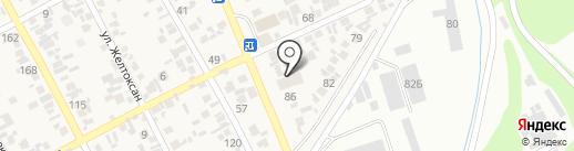 АНА САУДА на карте Коксая