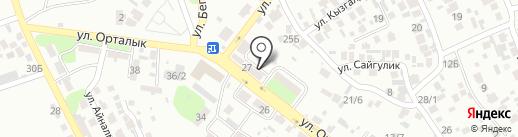 Городская поликлиника №29 на карте Алматы