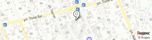 Доктор Смайл на карте Алматы