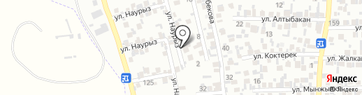 ЛигаМастерАвто, ТОО на карте Алматы