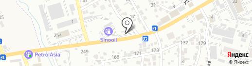 Натали на карте Алматы
