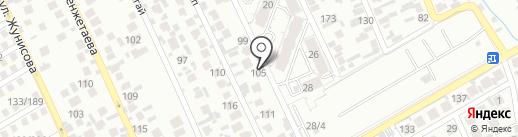 Riza на карте Алматы
