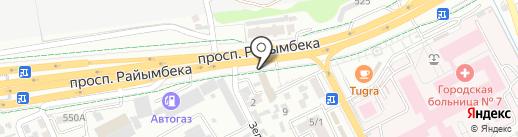 Nur Abdi на карте Алматы