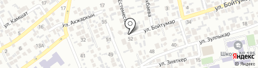 Участковый пункт полиции №13 Аксайского сельского округа Карасайского района на карте Алматы
