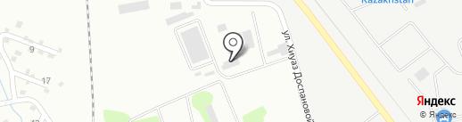 ЦОТ, ТОО на карте Алматы