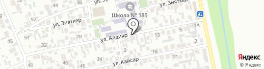 Ниет на карте Алматы