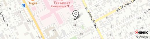 Zhuldyz TV на карте Алматы