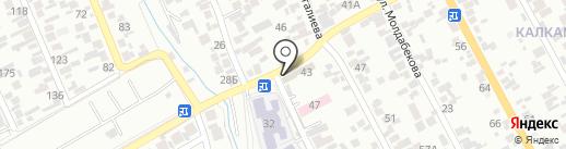 Айлун на карте Алматы
