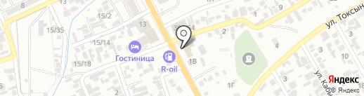 Ильхам, лагманхана на карте Алматы
