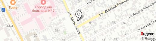 Балжан, магазин продуктов на карте Алматы