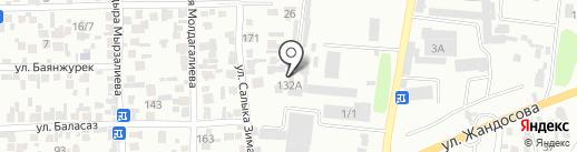Солитон+ на карте Алматы