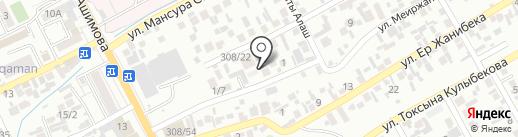 Партнер, продуктовый магазин на карте Алматы