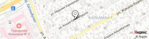 Акниет, магазин продуктов питания на карте Алматы