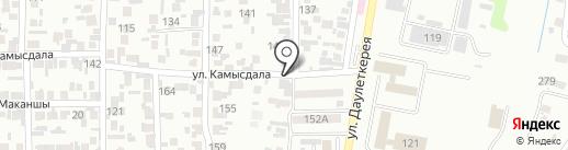 Олжа на карте Алматы