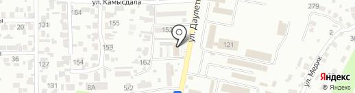 Мусахан-Секьюрити ЛТД, ТОО на карте Алматы