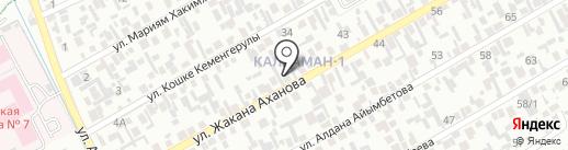 Бексултан, продуктовый магазин на карте Алматы