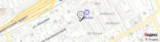 Айбол, продуктовый магазин на карте Алматы