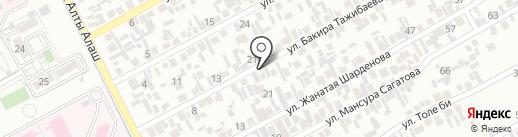 Айя, магазин продуктов питания на карте Алматы