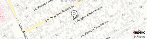 НУР, продовольственный магазин Абдухалитова на карте Алматы