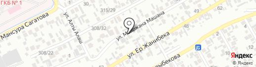 Лубенка, продуктовый магазин на карте Алматы