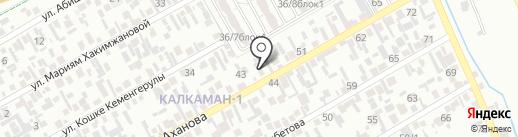 Алижан на карте Алматы
