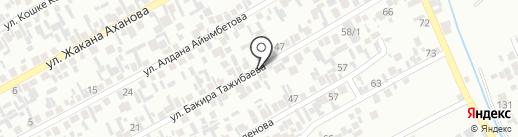 Айгул, магазин продуктов питания на карте Алматы