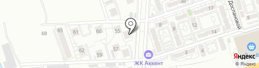 Лотос на карте Алматы